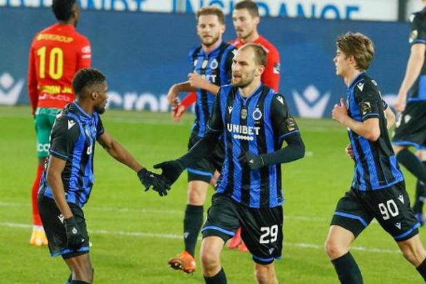 Jupiler Pro League - Club Brugge gaat nipt voorbij KV Oostende, Lamkel Zé bezorgt Antwerp de zege tegen Cercle