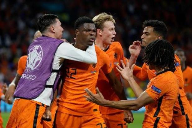 EK 2020 - Matchwinnaar Dumfries man van de match na Nederlandse zege tegen Oekraïne