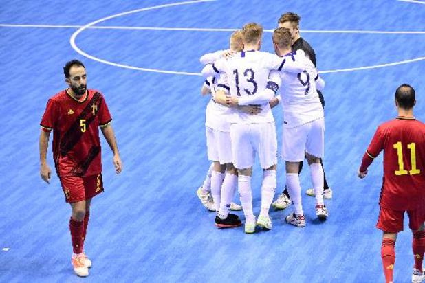 """Euro 2022 de futsal: la Finlande gagne en fin de match au Monténégro et s'offre une """"finale"""" contre la Belgique"""