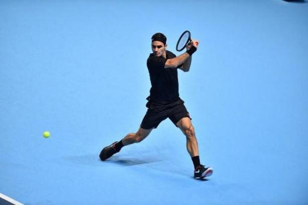 Federer poetst blazoen op met zege tegen Berrettini op ATP Finals
