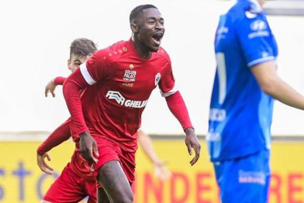 Jupiler Pro League: l'Antwerp s'impose à La Gantoise par le plus petit écart