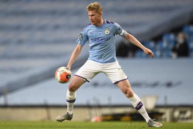 Belgen in het buitenland - De Bruyne helpt Manchester City met goal en assist aan zege tegen kampioen Liverpool