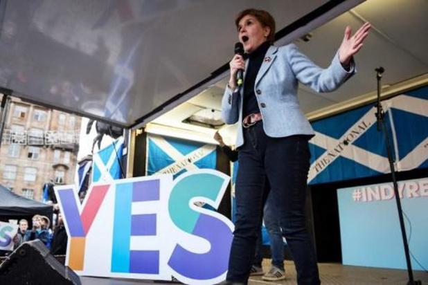 Duizenden Schotten op straat voor onafhankelijkheid