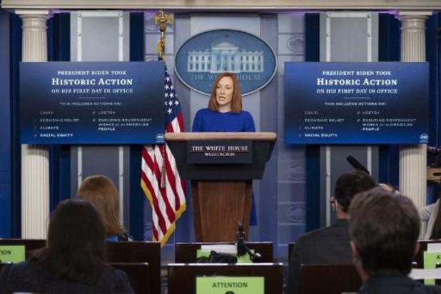 Inauguratie Biden - Woordvoerster Witte Huis wil waarheid en transparantie terugbrengen