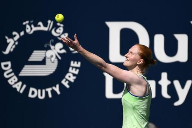 US Open - Alison Van Uytvanck neemt eerste horde niet