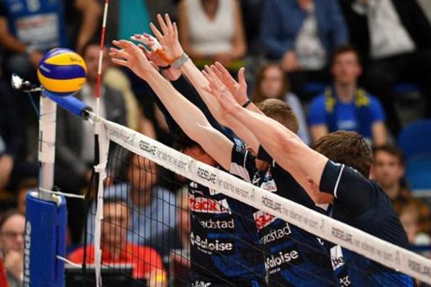 Ligue des Champions de volley - Roulers battu 3-0 à Kedzierzyn-Kozle