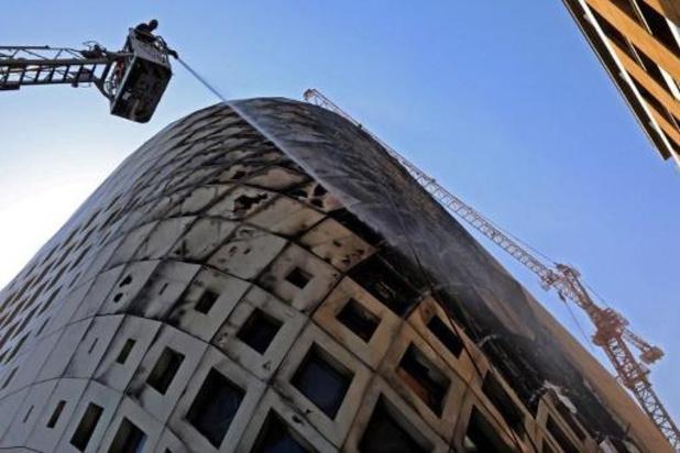 Les pompiers ont éteint le nouvel incendie dans le centre-ville de Beyrouth