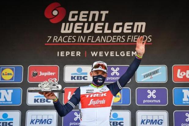 """Gent-Wevelgem - Pedersen profiteert van rivaliteit bij achtervolgers: """"Had vertrouwen in mijn sprint"""""""