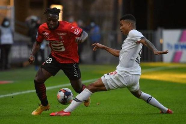 Les Belges à l'étranger - Jérémy Doku et Rennes battus à domicile par Lille