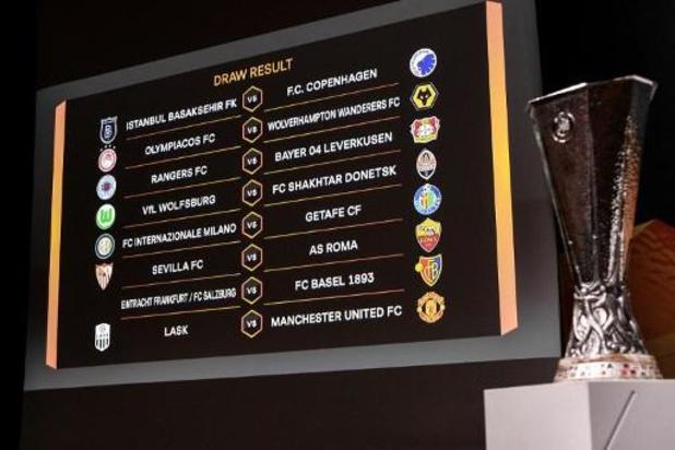 Europa League : des huitièmes de finale perturbés par le coronavirus