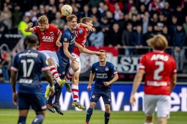 Ook AZ en PSV willen Eredivisie niet meer hervatten