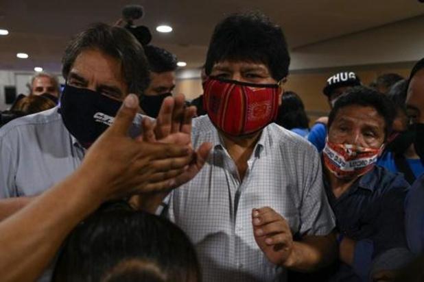 Voorlopige verkiezingsresultaten in Bolivia wijzen Morales' partij als winnaar aan