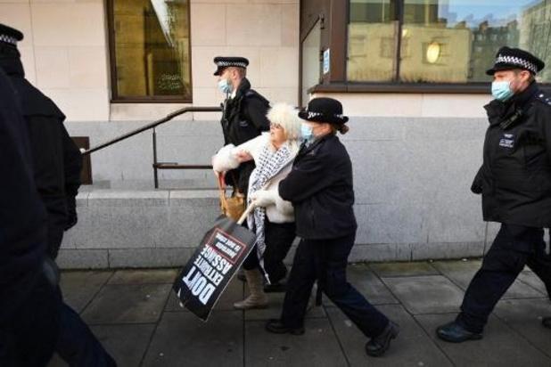 WikiLeaks-oprichter Julian Assange blijft opgesloten in Groot-Brittanië
