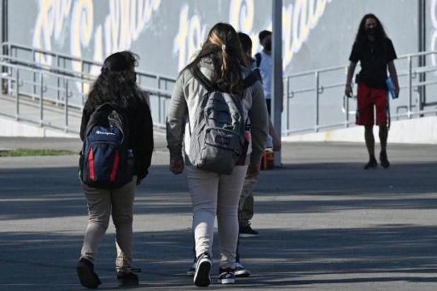 2.812 leerlingen en 220 personeelsleden testten sinds de start van het schooljaar positief