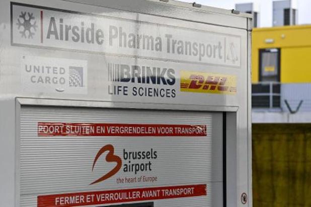Sept vols avec des doses du vaccin opérés en moins d'un mois depuis Brussels Airport