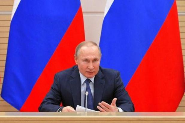 Poetin: 'Geen homohuwelijk in Rusland zolang ik president ben'