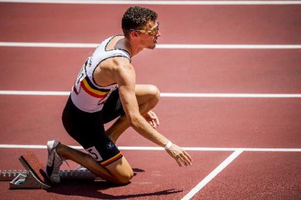 Kevin Borlée geeft forfait voor halve finales 400m
