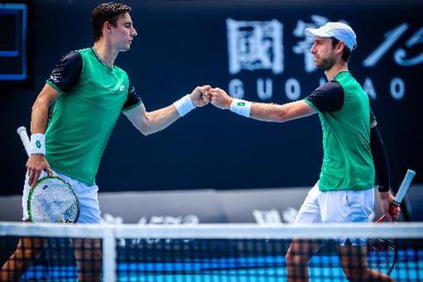 ATP München: Sander Gillé en Joran Vliegen plaatsen zich vlot voor kwartfinales