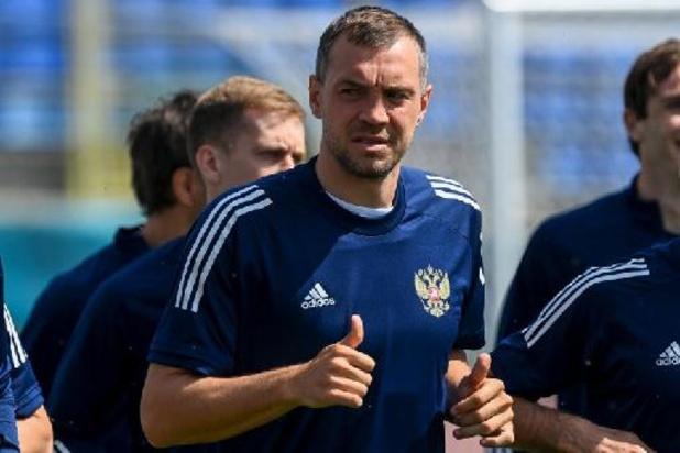 """La Belgique reste la grande favorite"", assure le capitaine russe Artem Dzyuba"