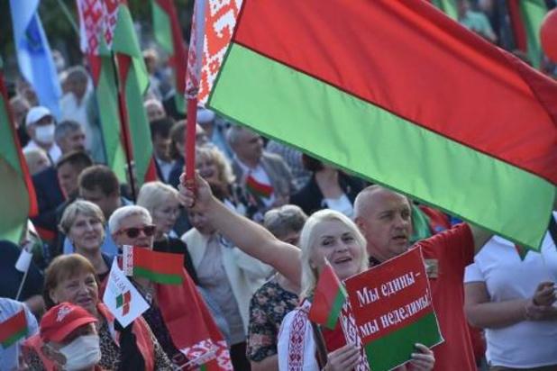"""Protesten Wit-Rusland: president beveelt leger om """"territoriale integriteit te verdedigen"""""""