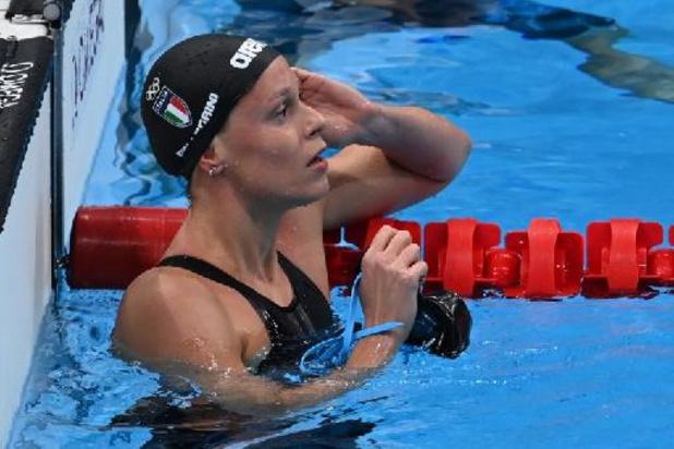 """JO 2020 - Federica Pellegrini part """"en paix"""" après cinq finales olympiques"""