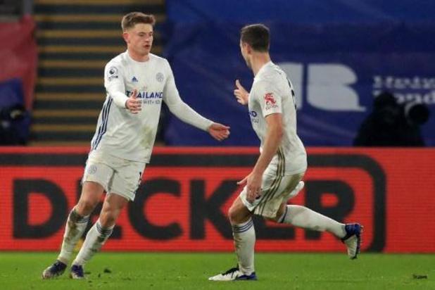 Leicester City geraakt niet voorbij Crystal Palace