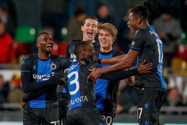Croky Cup - Club Brugge schakelt Oostende met strafschoppen uit