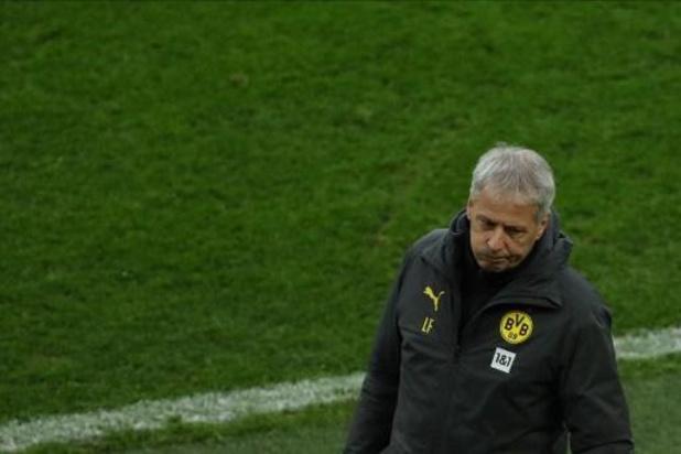 Lucien Favre limogé par le Borussia Dortmund