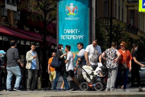 Speelstad Sint-Petersburg ziet coronabesmettingen toenemen
