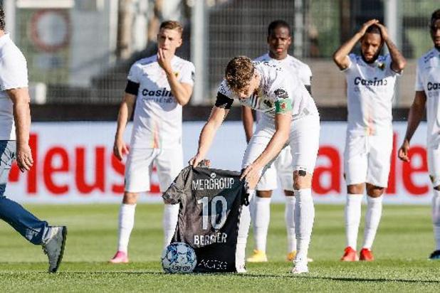 Ostende et Zulte Waregem joueront avec un maillot en hommage à Franck Berrier dimanche