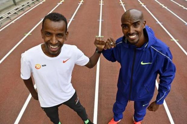 """Abdi et Farah vont lutter pour le record de l'heure: """"Nous serons toujours amis après"""""""