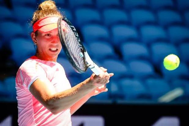 Elise Mertens bereikt halve finales dubbelspel