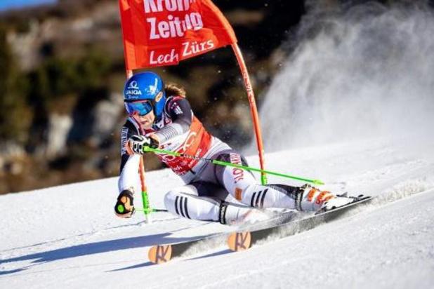 Victoire pour Petra Vlhova à Lech, la 3e consécutive