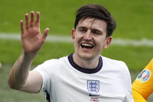 Harry Maguire is Man van de Match in Engeland-Duitsland
