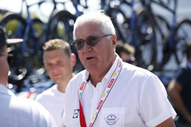 """Patrick Lefevere, patron de Deceuninck-Quick Step : """"Remco n'est même pas encore au top"""""""