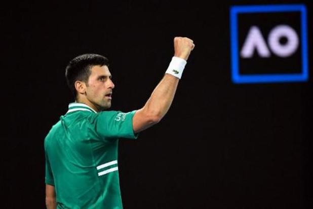Novak Djokovic se défait d'Alexander Zverev pour retrouver l'inattendu Karatsev en demie de l'Open d'Australie