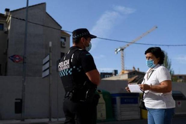Na Madrid gaan twee andere Spaanse steden in gedeeltelijke lockdown