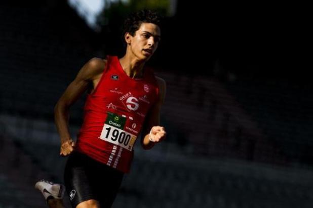 Jonathan Sacoor gagne son premier 400m en salle en 47.36 à Blacksburg aux États-Unis