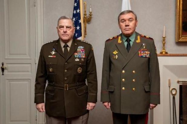 Amerikaanse en Russische stafchefs ontmoeten elkaar in Helsinki
