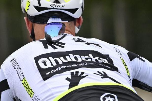 Victor Campenaerts avec Nizzolo et Pozzovivo pour Qhubeka ASSOS au Giro