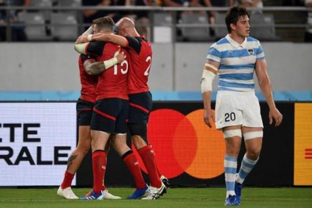 L'Angleterre premier qualifié pour les quarts de finale de la Coupe du monde de rugby