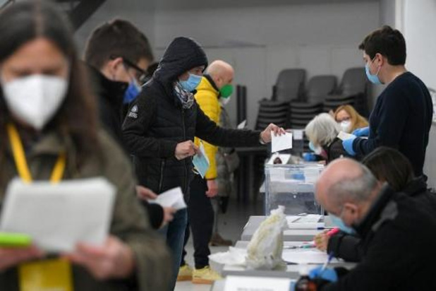 Espagne: élections indécises en Catalogne sous le signe du Covid