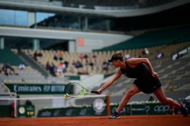 Elina Svitolina éliminée au 3e tour