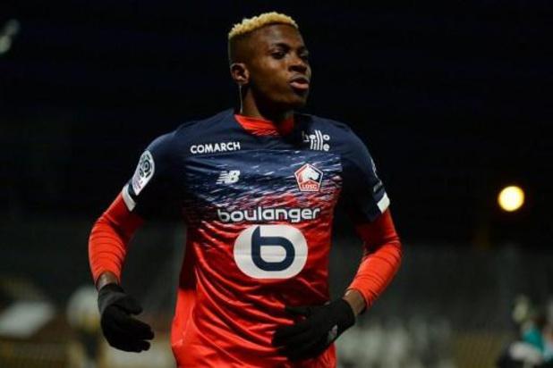 Victor Osimhen est le meilleur joueur africain de l'année en France