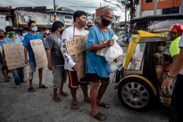 Recordaantal van 7.000 besmettingen op een dag in de Filipijnen