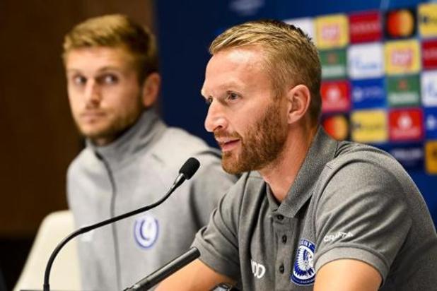 """AA Gent zonder kapitein Odjidja tegen Dynamo Kiev, maar Wim De Decker """"heeft een plan"""""""