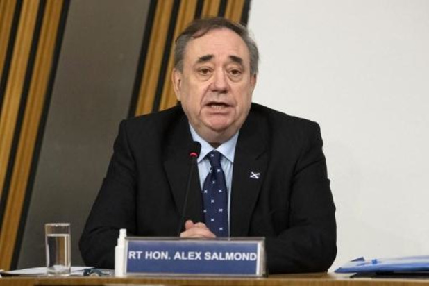 Blanchi par la justice, l'ex-Premier ministre écossais étrille sa successeure