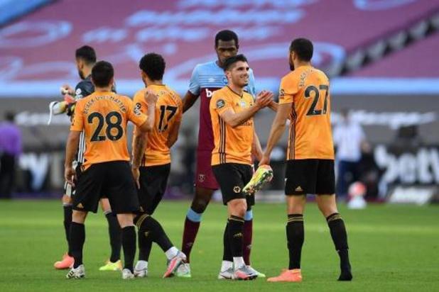 Belgen in het buitenland - Wolverhampton van Dendoncker klopt West Ham United