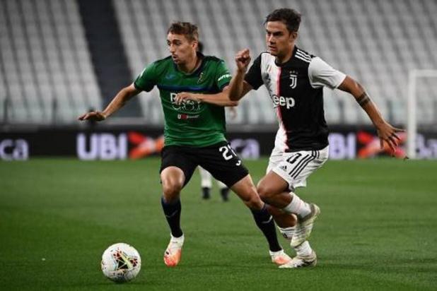 Les Belges à l'étranger - L'Atalanta, avec Castagne, tient en échec la Juve, qui égalise en toute fin de match