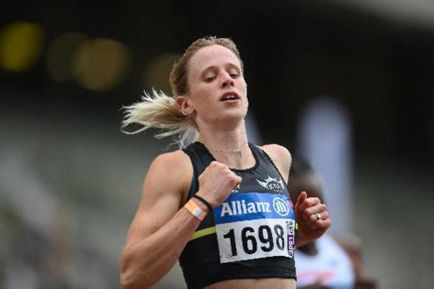 BK atletiek - Imke Vervaet snelt naar titel op 200 meter en lijkt op weg naar Tokio